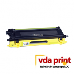 Reincarcare cartus toner Brother TN135 Yellow