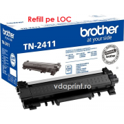 Incarcare catus toner Brother TN-2411 Brother HLL2312D