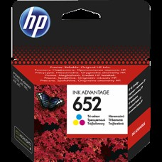 Cartus HP 652 Tricolor-F6V24AE Ink Advantage 2135