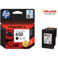 Cartus Original hp 650 Negru- hp 2515