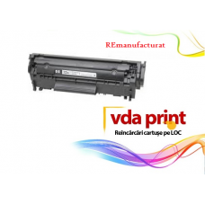Cartus toner hp Q2612A Remanufacturat