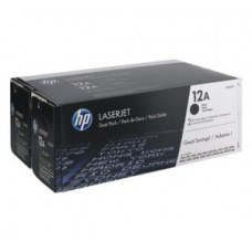 Cartus HP LaserJet 2 X Q2612A Dual Pack Black 12A