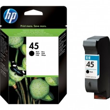 Cartus Original HP 45 Negru - 51645AE