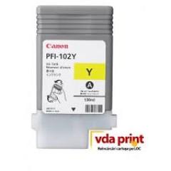 Cartus inkjet Canon PFI-104 Yellow Canon IPF 650