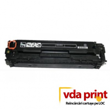 Reincarcare cartus toner hp CB540A Black CP1515